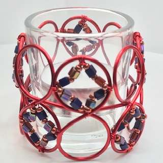 Spectacle Candle Cover