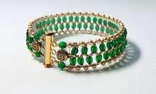 Emerald Isle by Valerie Catallozzi©2020, Ladder Stitch, May Birthday, St Patrick's Day, Bead Weaving Class