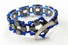Mosaic Tiles by Valerie Catallozzi©2020, Czech Tiles, Crystals, Mosaic, Beadweaving Class, Holiday Gift