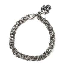 My First Chain Mail Class (2x2 Charm bracelet) by Corey Milliren© 2021 Class Taught Exclusively at Bead Jungle in Henderson, Nevada Jump Rings, Findings, Chain Mail, Charm, Tierra Cast Charms