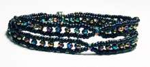 Vegan Wrap by Valerie Catallozzi©2021, Bead Weaving Class, Roman Wrap, Simple Stringing, Stitching, Bracelet